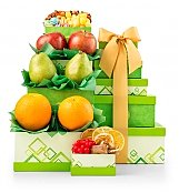 Fruit Baskets: Fresh from the Orchard Fruit Tower