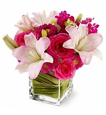 Flower Bouquets: Posh Pinks