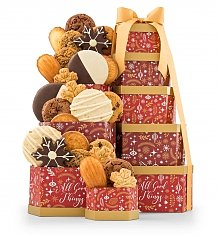 Gift Towers: Winter Wishes Cookie Tower