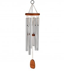 Personalized Keepsake Gifts: Amazing Grace Engravable Wind Chimes